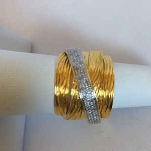 Jewelry - 925 Sterling Silver Vermeil Ring